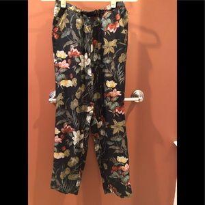 Momoni (Italian brand) floral silk pants